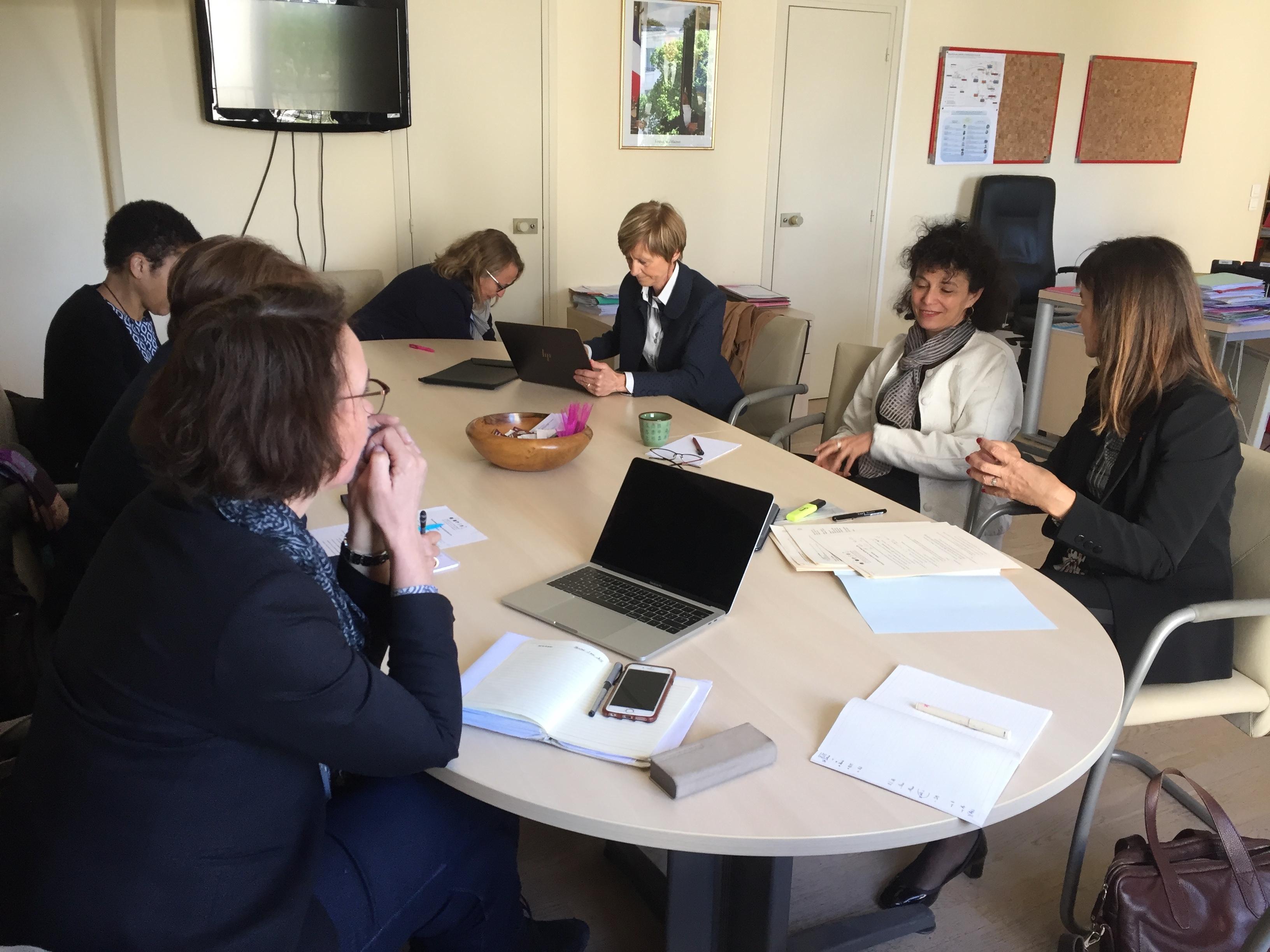 De nouveaux objectifs pour 2018 – Réunion du CA de l'AFDESRI