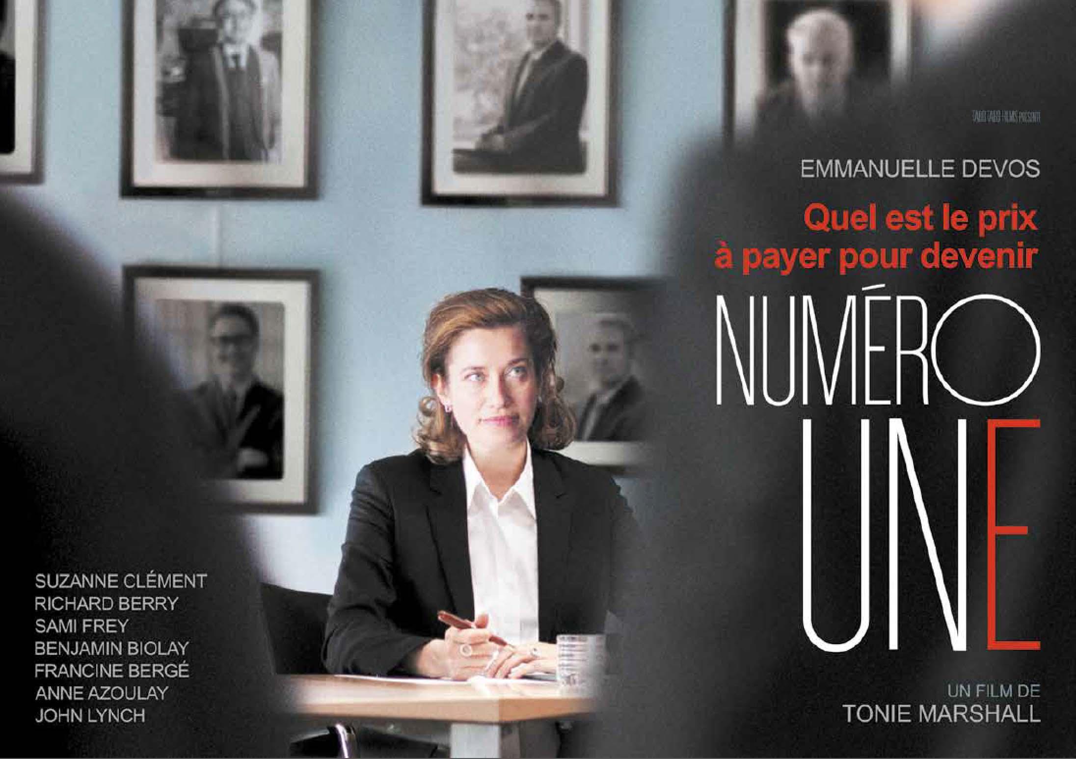"""Projection du film """"Numéro Une"""" à la DGESIP le 15 mars de 13h à 15h30"""
