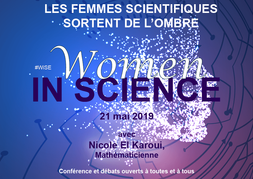 Women In Science – 21 mai 2019