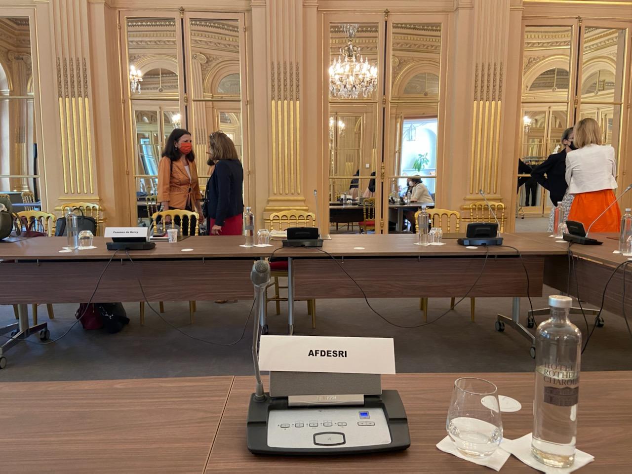 L'AFDESRI et 2GAP échangent avec la ministre Amélie de Montchalin